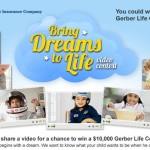 "Gerber Life ""Bring Dreams To Life"" Video Contest & Giveaway #BringDreamsToLife"