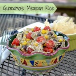 Easy Guacamole Mexican Rice #LoveEveryMinute
