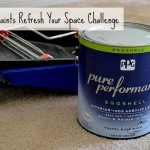 Pittsburgh Paints Refresh Your Space Challenge #DIY