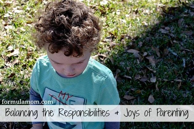 Balancing Responsibilities As A Parent