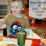Share Breakfast with Hungry Children & Kellogg's #ShareBreakfast