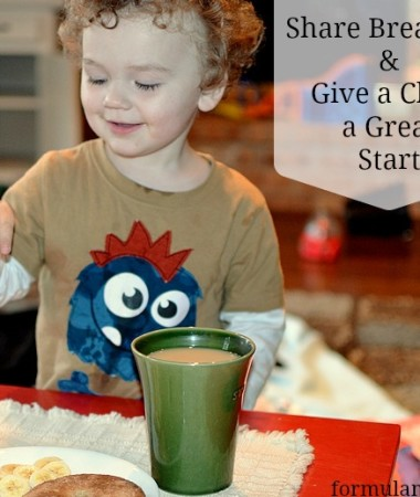 Share Breakfast with Kelloggs #ShareBreakfast