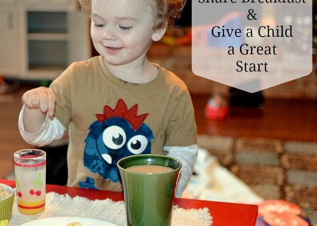 Share Breakfast with Hungry Children & Kellogg's #ShareBreakfast