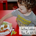 How to Get Toddlers to Eat: Have Fun with the Food! #NuggetSmiles