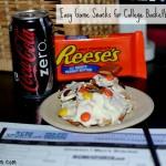 Easy Snacks for College Basketball Season #SnackMadness