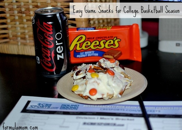 Easy Snacks for College Basketball Season #SnackMadness
