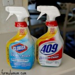 Cleaning with Clorox Smart Tube Technology #sprayeverydrop