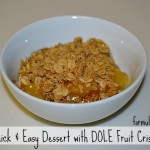 DOLE Fruit Crisps Party Like It's Sweet! #DOLEFruitCrisps