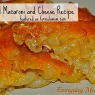 Macaroni and Cheese Recipe (Ronald Reagan's Favorite!)