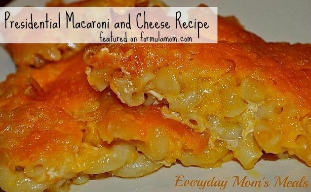 Macaroni and Cheese Recipe (Ronald Reagan's Favorite!) ~ Formula Mom ...