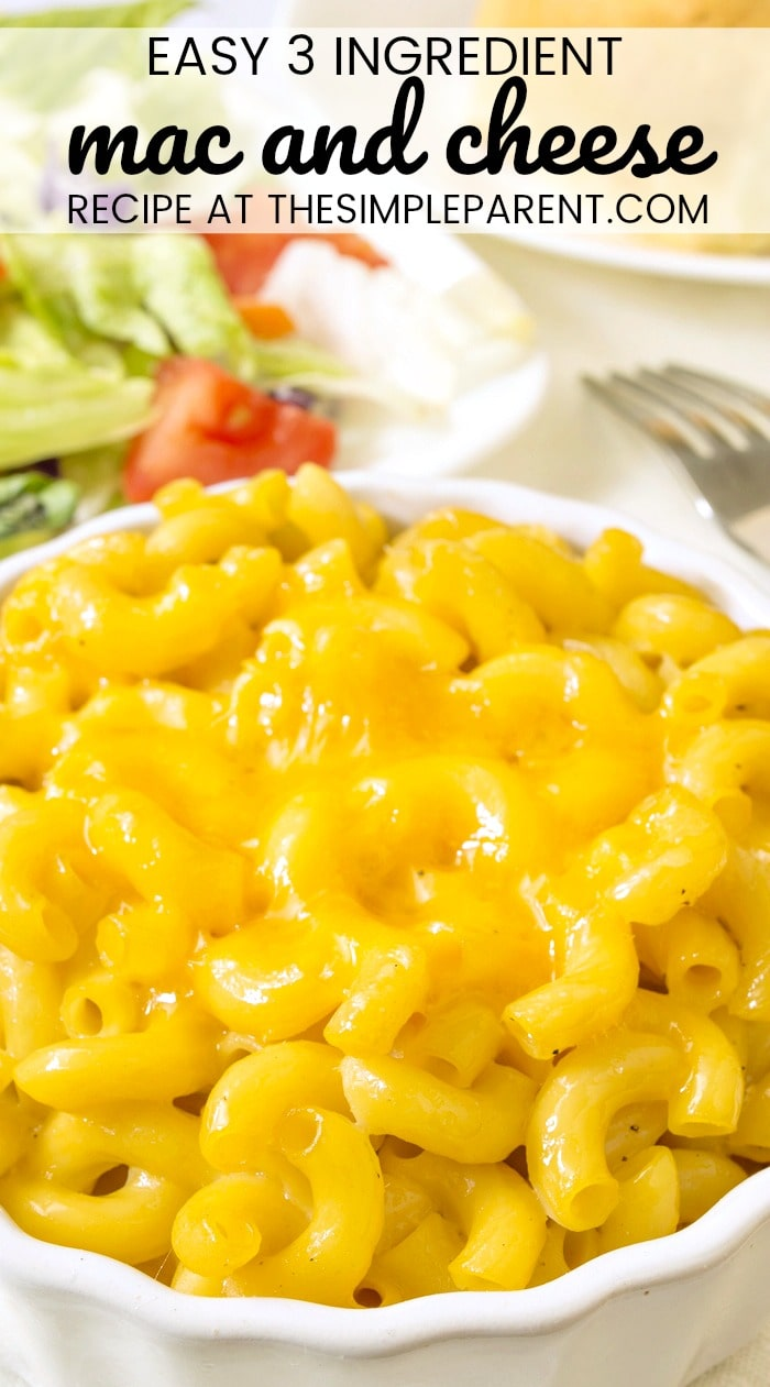 Velveeta Mac and Cheese - This easy macaroni and cheese recipe is perfect for busy families. If comfort foods are what you're craving this easy recipe will get the job done! I love the simple ingredient list! Check it out and you might have everything you already need right in your kitchen!