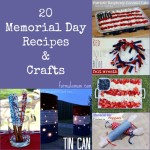 20 Memorial Day Recipes and Crafts #MemorialDay