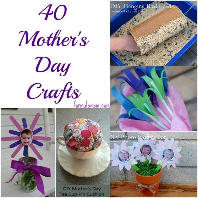 Mothers day crafts the simple parent