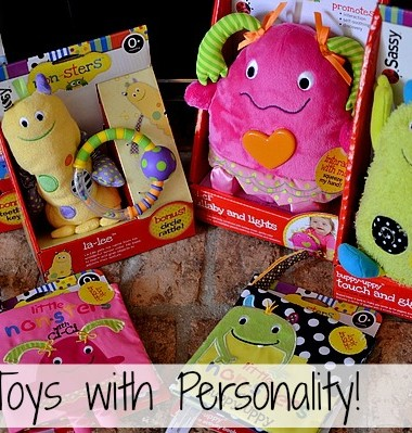Baby Toys with Personality: Sassy Non-sters