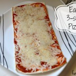 Easy Dinners to Make: 3 Step Pizza #FlatoutGood
