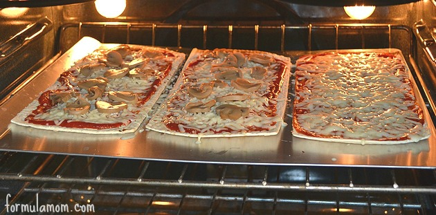 Quick and Easy Pizza with Flatout