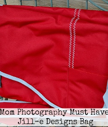 Mom Photography Must Have: Jill-e Designs Bag