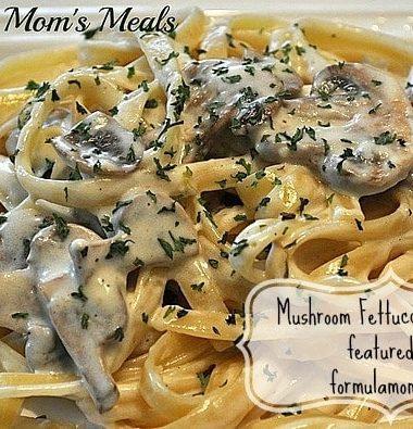 Mushroom Fettuccine Alfredo Recipe