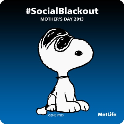 #SocialBlackout  Badge