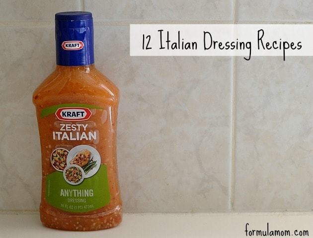 Zesty Italian Dressing #GetZesty