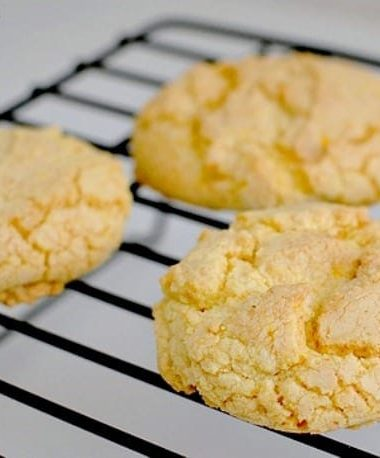 Lemon Cake Mix Cookies Recipe - This easy cookie recipe uses boxed cake mix and a few other ingredients! You can make it with Duncan Hines, Betty Croker, Pillsbury, or any brand cake mix. It's a simple recipe with 3 ingredients!