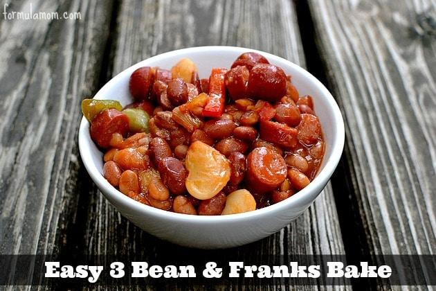 3 Bean and Franks Bake #99summerdays #HebrewNational