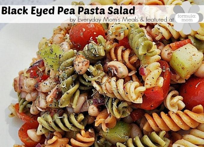Black Eyed Pea Pasta Salad