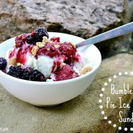 Bumbleberry Summer Sundae Recipe: A Healthier Take #MyPlatinum