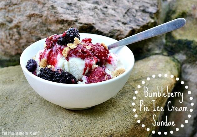 Bumbleberry Summer Sundae Recipe #MyPlatinum