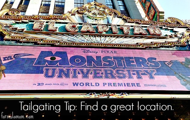 Disney's Monsters University Tailgate #MonstersUPremiere