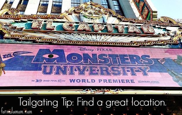 Disney's Monsters University Tailgate #MonstersUPremiere