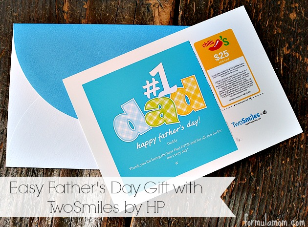 Easy Fathers Day Gifts with TwoSmiles by HP