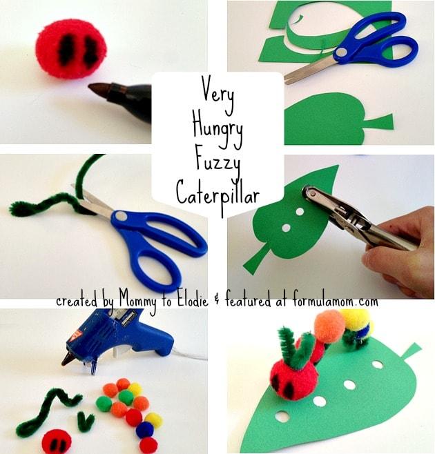 Hungry Caterpillar Craft For Kindergarten