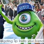 How to Tailgate Like Monsters University #MonstersUPremiere