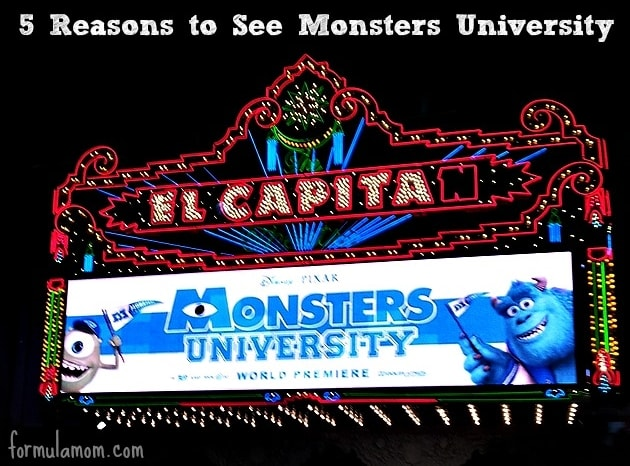 Monsters University Movie Review #MonstersUPremiere