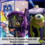 Getting Ready for Summer School at Monsters University #MonstersUPremiere