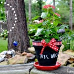 Painting Flower Pots Craft #MiracleGroProject