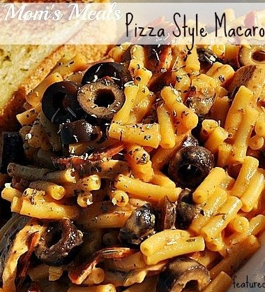 Pizza Style Macaroni and Cheese Recipe