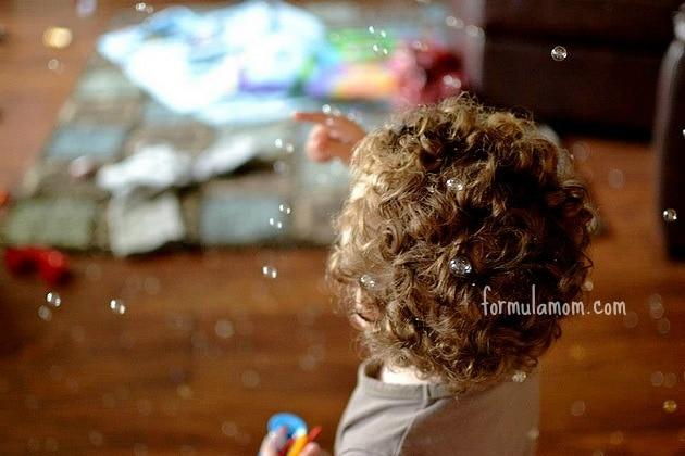 Summer Fun Ideas: Bubbles