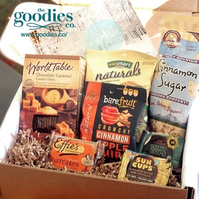 Monthly Snack Boxes from Goodies Co.