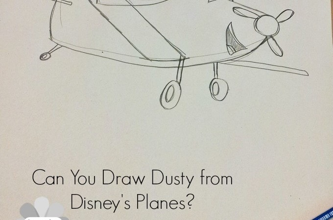 Can You Draw Dusty from Disney Planes? #DisneyPlanesEvent