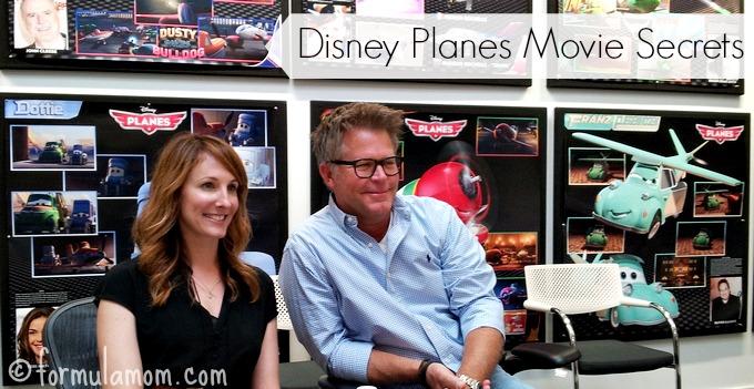 Disney Planes Movie Secrets from Director & Producer #DisneyPlanes