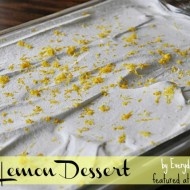 Easy Lemon Dessert Recipe