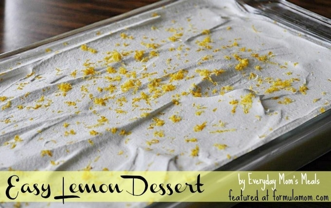Easy lemon dessert recipes with pictures