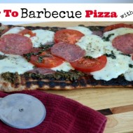 How to Barbecue Pizza