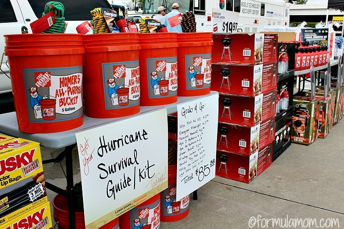 prepare your hurricane survival kit with items from the home depot so that you and your family won t be caught off guard