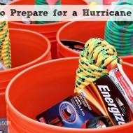 How to Prepare for a Hurricane #makeitsafe