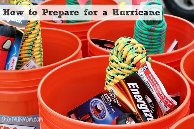 How to Prepare for a Hurricane #makeitsafe