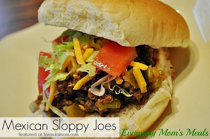 Mexican Sloppy Joes Recipe