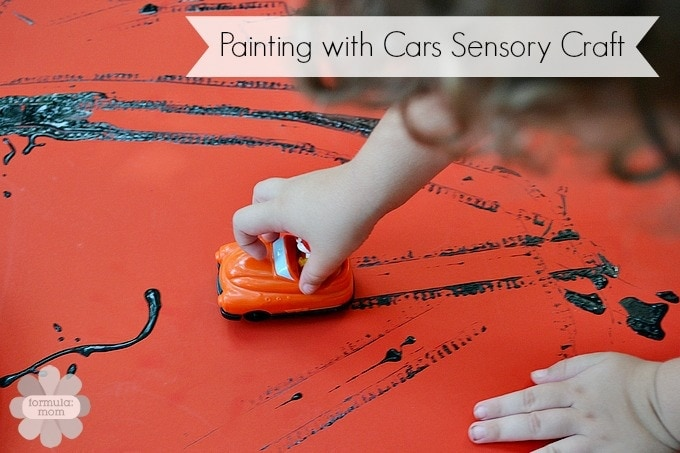 Painting with Cars Craft